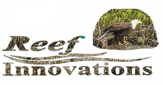 Logo Eagle on Reef Ball Living Breakwater (2)